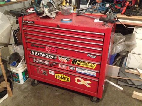 snap on tool boxes price list price lowered obo snap on tool box oak bay victoria