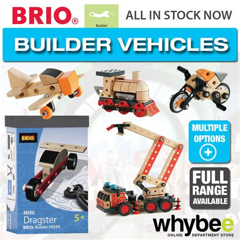 brio construction toys brio builder vehicles full range of wooden toys for 4 6