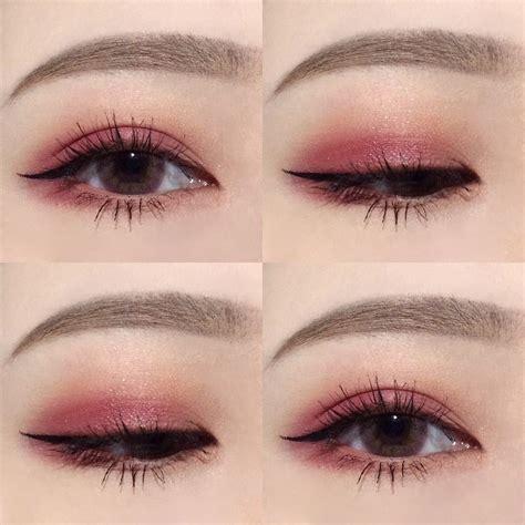 Korea Pink korean makeup pretty pink eyebrows