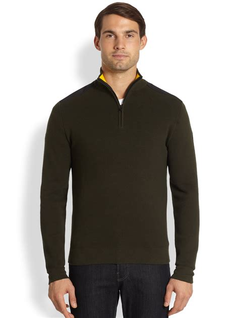 Sweater Maverick By Clothing victorinox maverick sweater in green for lyst
