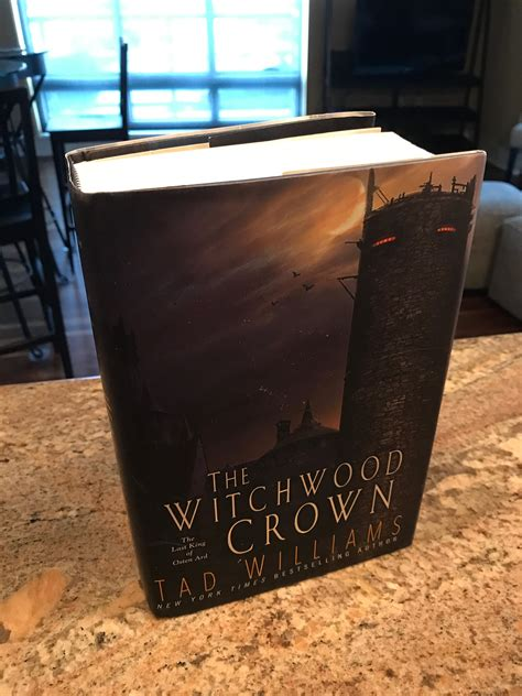 the witchwood crown book the witchwood crown by tad williams book 1 of the last king of osten ard dusk before the dawn