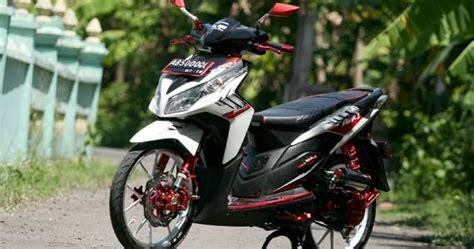 Modifikasi Motor F1 Zr Simple by Modifikasi Honda Vario Techno Elegan Modifikasi Motor