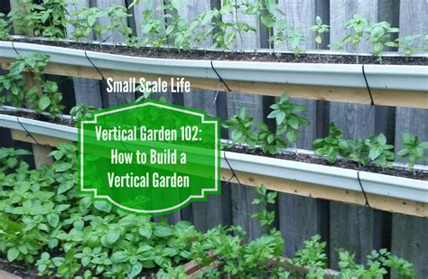 how to build a vertical garden how to build a vertical