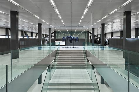 Oma Interiors by Oma Envisions G Hq In Amsterdam As Airport Hangar