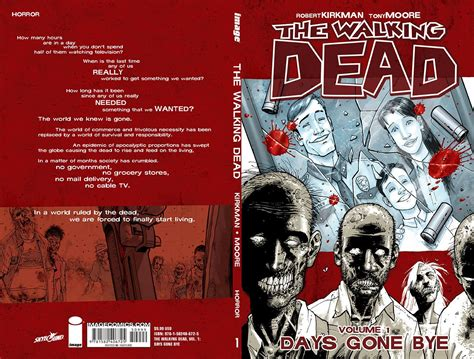 the walking dead volume the walking dead vol 01 quot days gone bye quot skybound