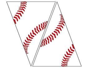 baseball template printable free printable baseball banner baseball decorations