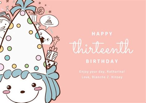 card canva template customize 884 birthday card templates canva