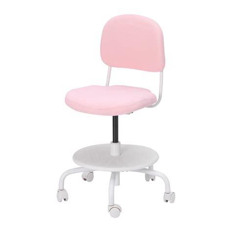 ikea sedie scrivania vimund sedia da scrivania per bambini rosa pallido ikea