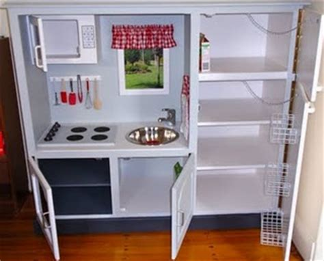 tv cabinet kids kitchen tv entertainment center turned play kitchen design dazzle