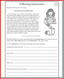 4th grade language arts printable worksheets davezan