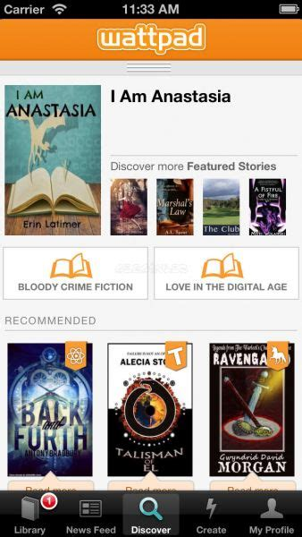 wattpad ebook reading wattpad ebook reader indir iphone ve ipad gezginler mobil