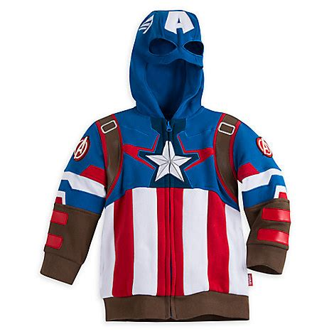 Hoodie Anak Anak Captain America captain america zip hoodies for boys disney store