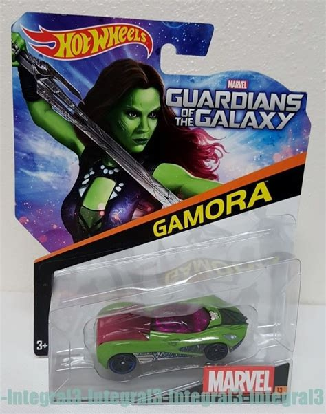 New Mainan Diecast Wheels Guardians Of The Galaxy Vol 2 Gamora wheels marvel guardians of the galaxy gamora die cast futuristic sport car products