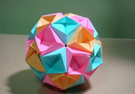 Origami Tomoko Fuse - origami maniacs origami sea kusudama by tomoko fuse