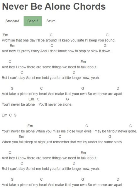 weather pattern lyrics never be alone chords shawn mendes shawn mendes