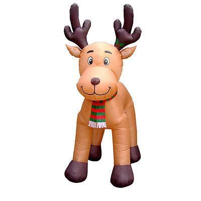 light up reindeer moving head yard d 233 cor christmas winter holiday seasonal d 233 cor