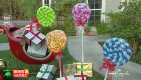 outdoor 8 diameter christmas lollipops outdoor decor diy decoration ideas for