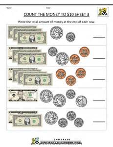 Money Worksheets For Grade 2nd grade math worksheets money free counting money