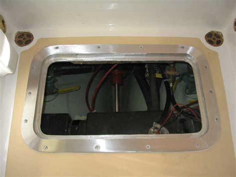boat cockpit hatches pearson triton 381 glissando aluminum cockpit access hatch