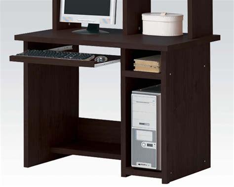 Computer Desk Espresso Finish Acme Computer Desk In Espresso Finish Ac04690
