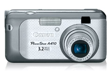 canon u.s.a. : support & drivers : powershot a410