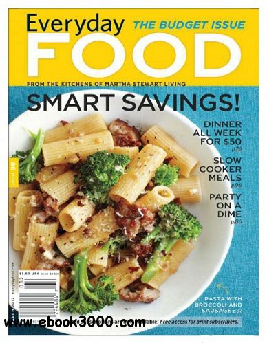 everyday food usa march 2012 free ebooks download