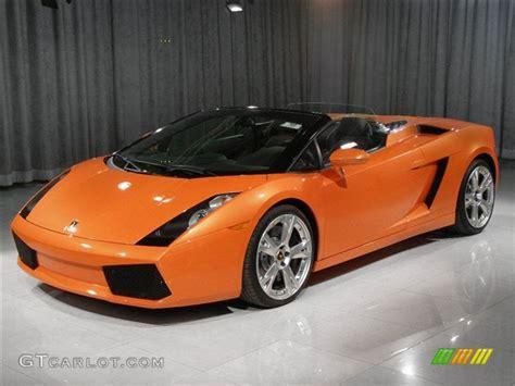 2006 pearl orange lamborghini gallardo spyder e gear 47077 gtcarlot car color galleries