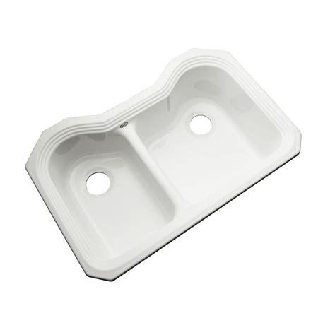 acrylic kitchen sink installation kohler executive chef undermount cast iron 36 in 4
