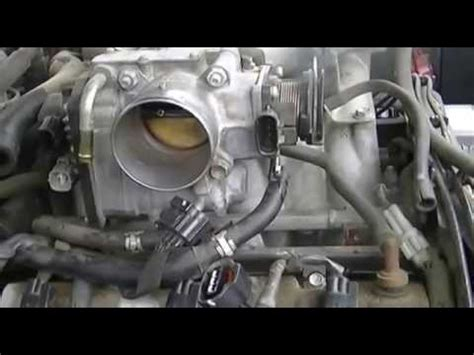 1 of 3 throttle body cleaning. toyota 4runner youtube