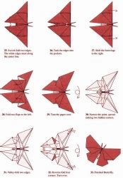 Origami Butterfly Diagram - origami butterfly robert lang