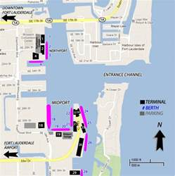 florida cruise ports map cruises from fort lauderdale florida fort lauderdale