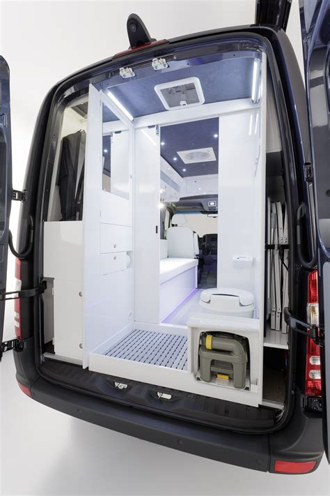 sprinter van with bathroom sprinter rv mercedes brings its own sprinter cer van
