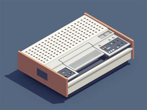 Beautiful 3D Animations Of '90s Gadgets Made With Cinema ... V And S Logo Design