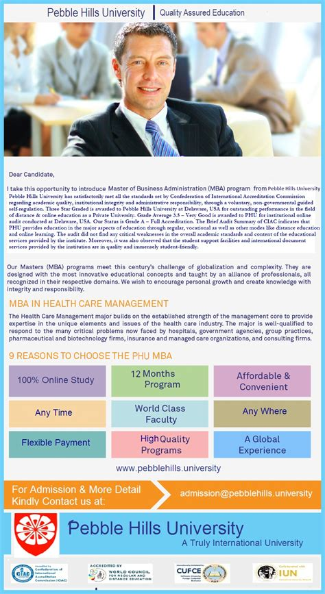 Eligibility For Mba In Healthcare Management by Newly Added Program Master Of Business Administration In