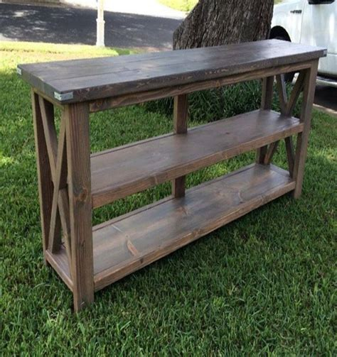 image result  pallet wood console table