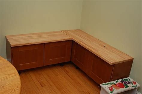 how to build banquette seating with cabinets ikea cabinets make a banquette i m loving this idea for