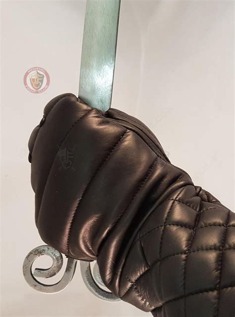 armour body armour gauntlets leather gauntlet