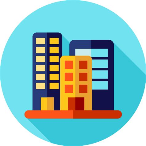icon design office office block free buildings icons