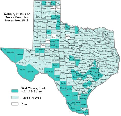 map of the counties in texas tabc and counties
