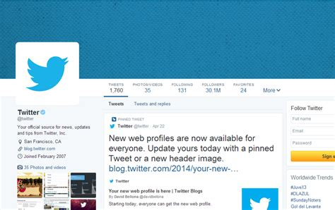 Twitter Account Layout | twitter profile page design related keywords twitter