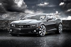 azuri car chevrolet camaro ss black cat
