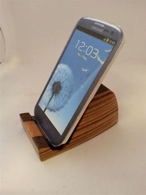 Phone Caddy For Desk by Smart Phone Holder Desk Accessory Wood Organizer Ma0251