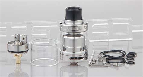Rta Augvape Merlin Mini 24 Atomizer Authentic 17 95 authentic augvape merlin mini rta rebuildable tank atomizer 2ml stainless steel