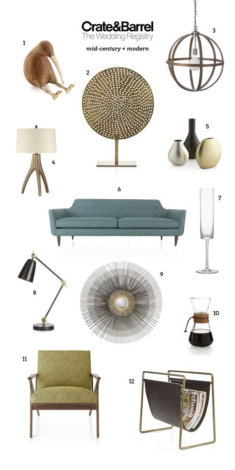 Gifts For Home Decor by Crate And Barrel Wedding Registry Favorites Wedding