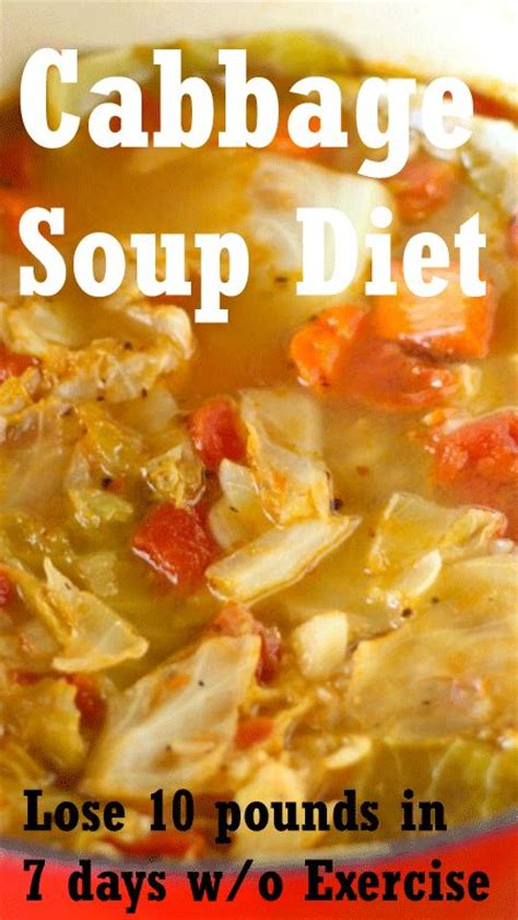 7 Day Detox Diet Soup Recipe by Cabbage Soup Diet For Weight Loss Want To Lose 10 15