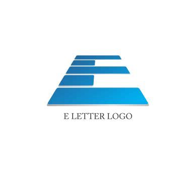 logo e layout alphabet e logo design download vector logos free