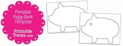 bank template printable piggy bank template printable treats