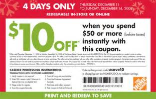 home depot printable home depot coupons