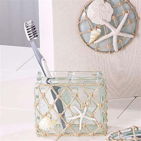 sea glass bathroom accessories sea glass resin coastal bath accessories
