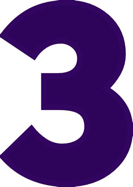 three s number 3 clip art at clker com vector clip art online